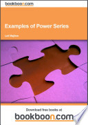 Examples of Power Series
