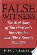 False Witness Book PDF