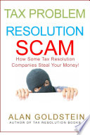 Tax Problem Resolution Scam These Ads On Tv Radio And Mail