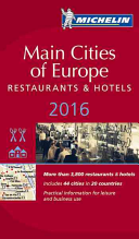 MICHELIN Guide Main Cities of Europe 2016