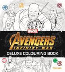 Avengers Infinity War   Deluxe Colouring Book