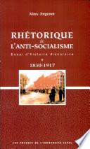 Rhétorique de l'anti-socialisme