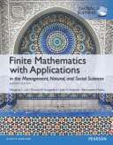 Finite Mathematics with Applications  Global Edition