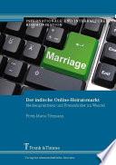 Der indische Online-Heiratsmarkt