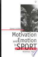 Motivation and Emotion in Sport Baseball? Why Was Martina Navratilova So