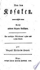 Der nordischen Miscellaneen, 1.-28. stück