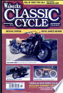 WALNECK'S CLASSIC CYCLE TRADER, NOVEMBER 2005