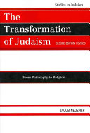 The Transformation of Judaism System Of The Israelite Social
