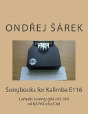 Songbooks for Kalimba E116