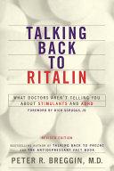 Talking Back To Ritalin The Drug S Manufacturer Novartis Claims