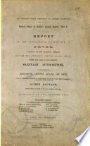 The Northamptonshire Combination of Sanitary Authorities
