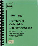 Directory of Ohio Adult Literacy Programs