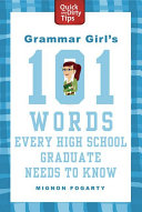 Grammar Girl S 101 Words Every High School Graduate Needs To Know