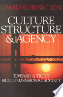 Culture  Structure and Agency Book PDF