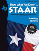 SWYK on STAAR Reading Writing Gr  4  Parent Teacher Edition