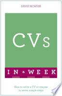 CVs In A Week