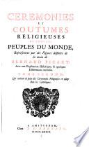 Qui contient la suite des Ceremonies Religieuses en usage chez les Catholiques