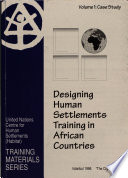Designing Human Settlements Training In African Countries Case Study
