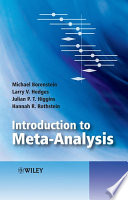 Awesome Introduction to Meta-Analysis