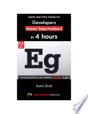 Quick and Dirty Guide for Developers  Adobe Edge Preview 3 in 4 Hours