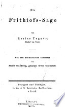 Die Frithiofs Sage