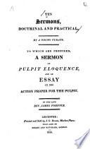 Ten Sermons Doctrinal And Practical