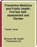 Preventive Medicine and Public Health  PreTest Self Assessment and Review  Ninth Edition
