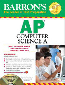 Barron s AP Computer Science a with CD ROM  6th Edition