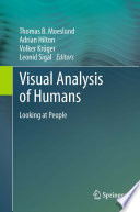 Visual Analysis Of Humans book