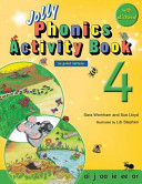 Jolly Phonics Activity Book 4  in Print Letters