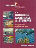 Time saver Standards for Building Materials   Systems