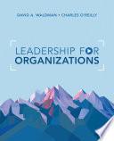 Leadership for Organizations Book PDF