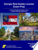 Georgia Real Estate License Exam Prep