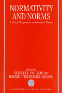 Normativity and Norms
