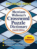 Merriam Webster s Crossword Puzzle Dictionary  Fourth Edition