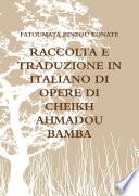 RACCOLTA E TRADUZIONE IN ITALIANO DI OPERE DI CHEIKH AHMADOU BAMBA
