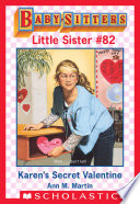 Karen S Secret Valentine Baby Sitters Little Sister 82