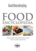 Good Housekeeping Food Encyclopedia Book PDF