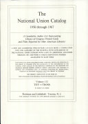 National Union Catalog