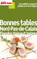 illustration Bonnes tables Nord-Pas de Calais - Flandres Hainaut belges 2012