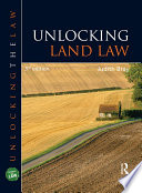 Unlocking Land Law  Third Edition
