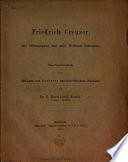 Friedrich Creuzer, sein Bildungsgang und seine bleibende Bedeutung