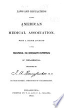 Laws and Regulations of the American Medical Association