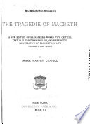 The Elizabethan Shakespere  The tragedie of Macbeth   v 2  The tempest