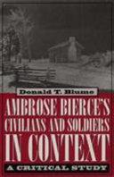 download ebook ambrose bierce's civilians and soldiers in context pdf epub
