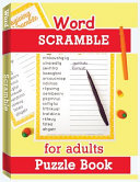 Word Scramble Puzzle Book For Adults