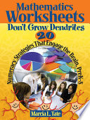 Mathematics Worksheets Don t Grow Dendrites