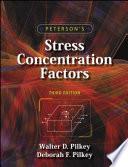 Peterson s Stress Concentration Factors