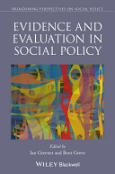 Evidence and Evaluation in Social Policy