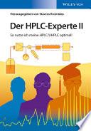 Der HPLC Experte II